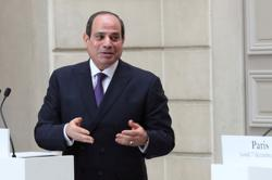 Egypt's Sisi offers support as Lebanon's Hariri visits Cairo