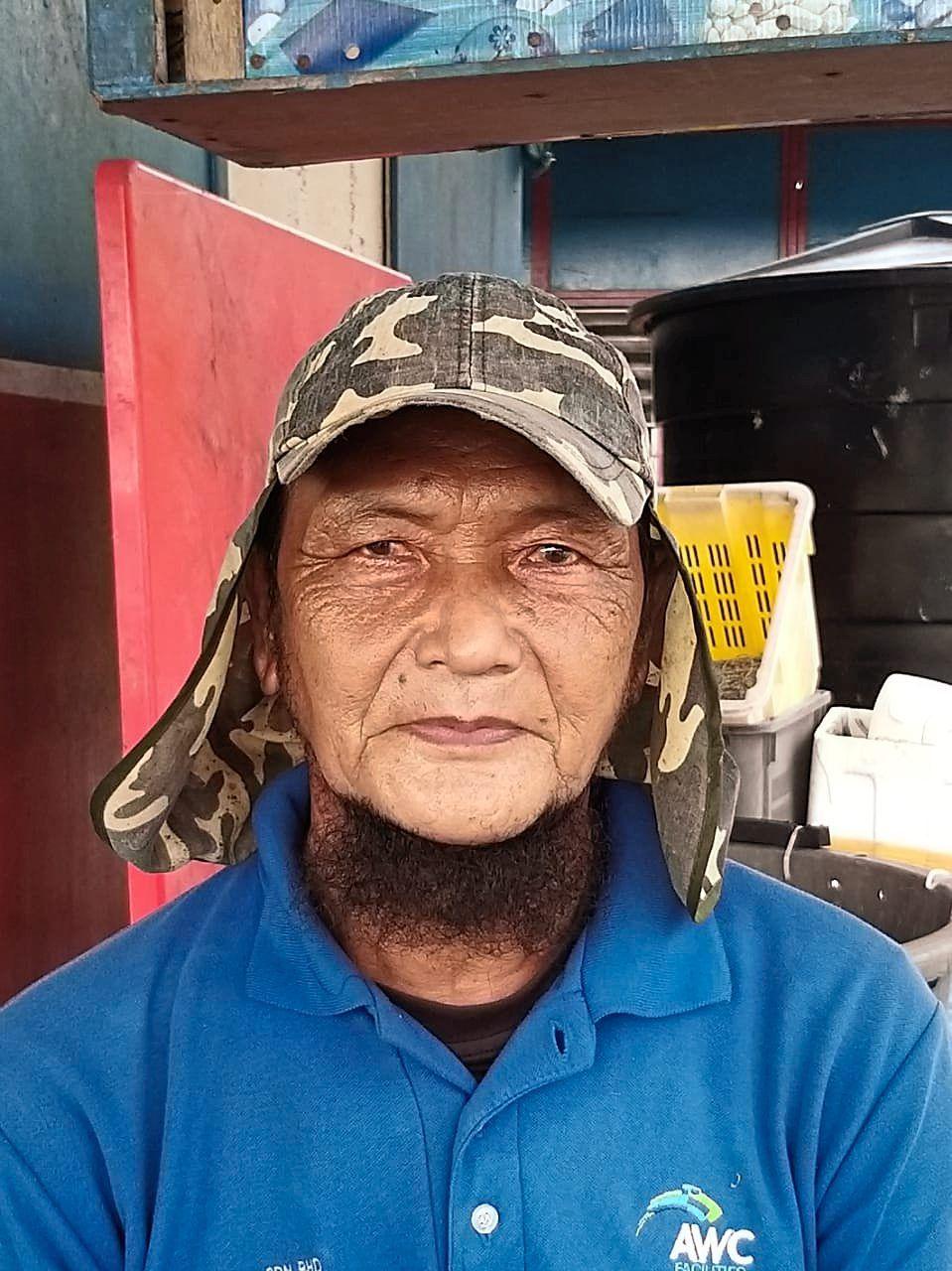 Kamaruzaman says fishermen travel as far as Pulau Merambong, about 20km away, to fish.