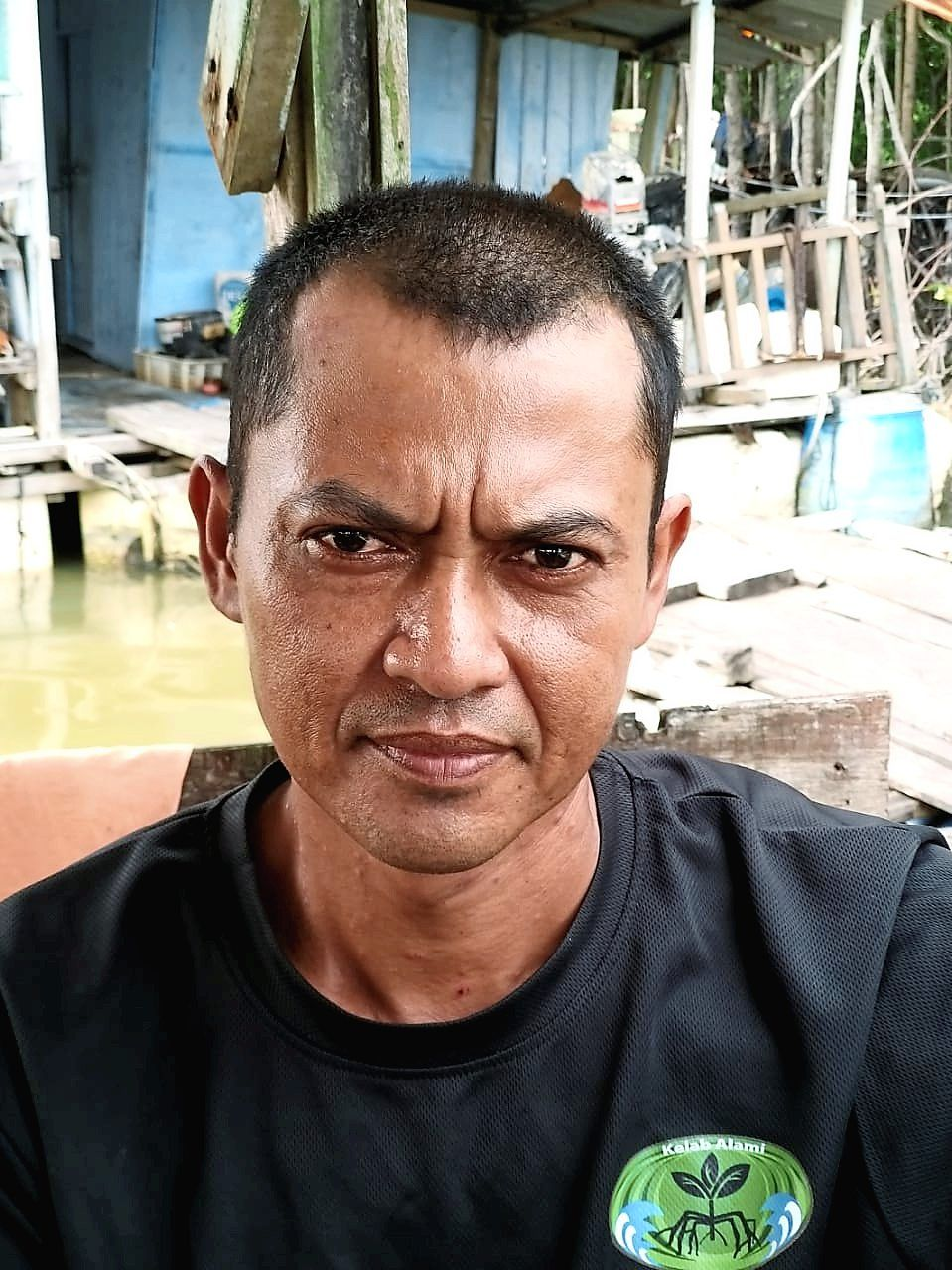 Faidarus says fishing in the Straits of Malacca is dangerous but the fishermen have no choice.