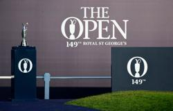 Golf-Play gets underway as British Open returns at Royal St George's