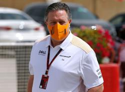 Motor racing-McLaren CEO Brown isolating after positive COVID-19 result