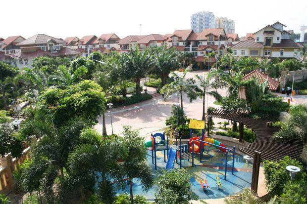 The abundant greenery in Mah Sing's Damansara Legenda project