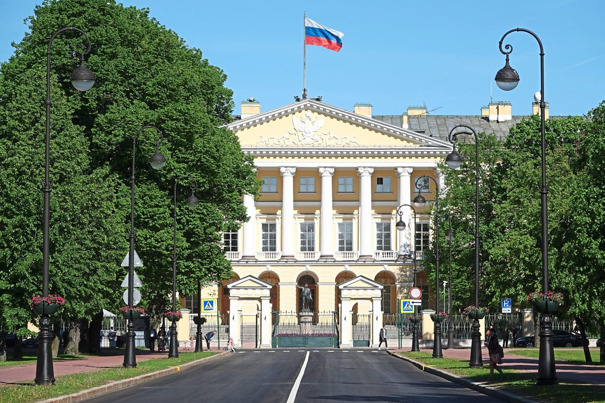 Putin worked in St Petersburg's city administration in the 1990s, where he was responsible for international relations, among other things.