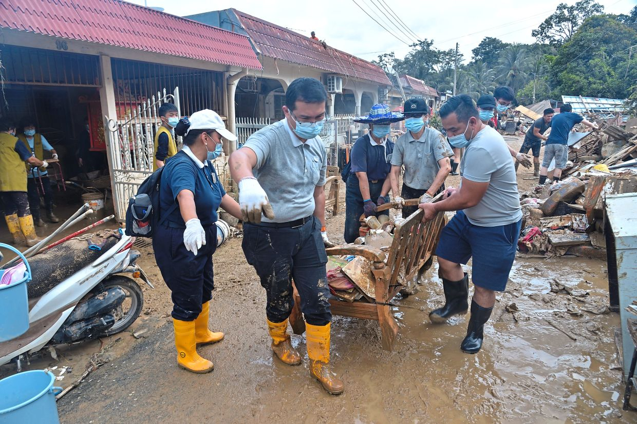 Tzu Chi volunteers are always willing to lend a helping hand in any situation of crisis.