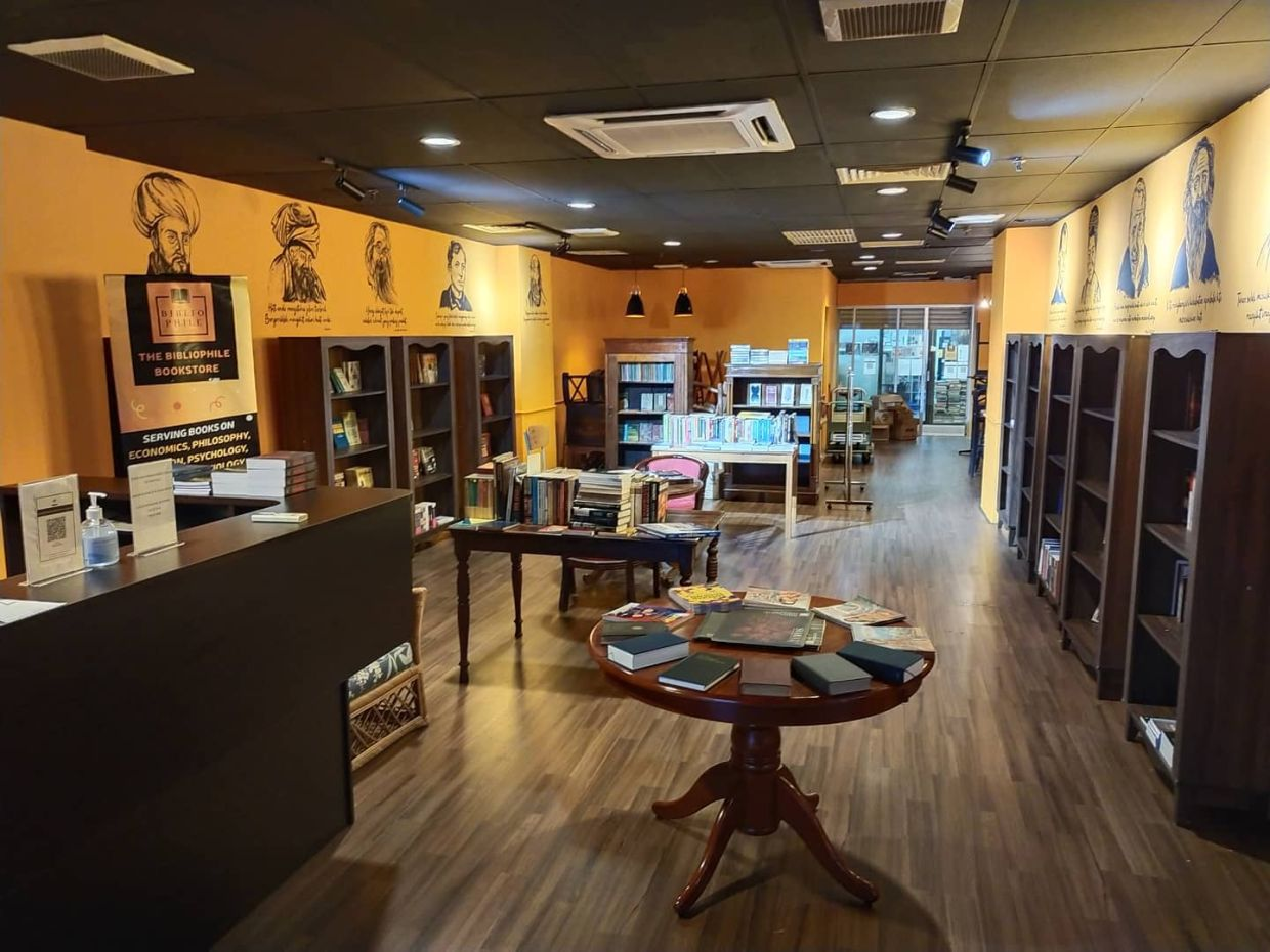 The Bibliophile Bookshop in Petaling Jaya will remain closed until the pandemic situation improves in Selangor. Photo:  Bibliophile Bookshop