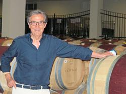 A star at home, Italy's top wine consultant counts the pope as his client