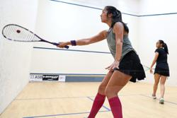 Rachel upsets Egyptian Farida to march into second round