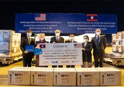 More than one million doses of Johnson & Johnson vaccine donated by US arrive in Laos