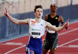 Olympics-Athletics-After world record, Warholm eyes final jewel in crown