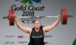 Olympics-IOC backs transgender weightlifter's selection for Tokyo, says to review rules later