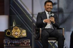 Philippines senator Pacquiao, the world superstar boxer, ousted as president of ruling party after row