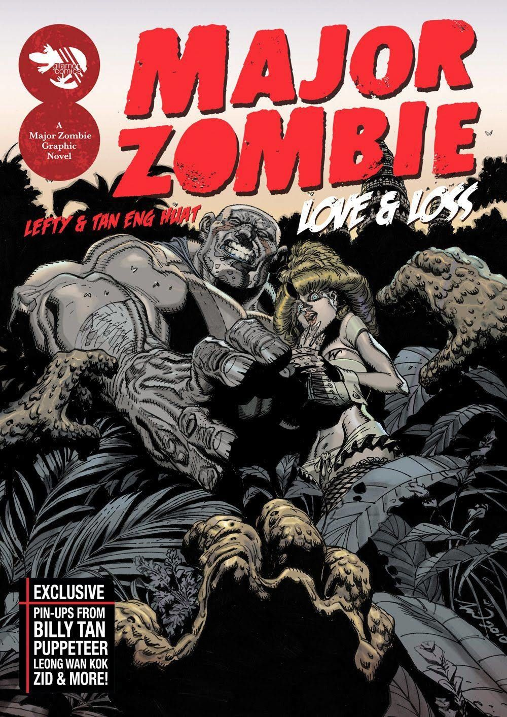 Gilamon Studio's 'Major Zombie: Love And Loss' from 2011, which introduced the masses to Lefty's Major Zombie character (which he created in 2003). Photo: Filepic