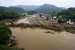 Germany's floods cover livelihoods in sludge