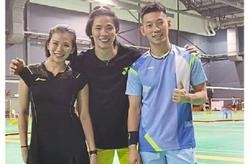 Sparring with Peng Soon-Liu Ying brings out the Olympian in Tang Jie