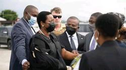 Martine Moise, widow of assassinated president, returns to Haiti