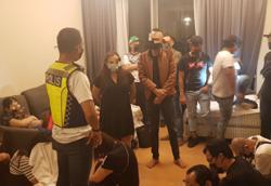 Cops arrest 28 at birthday bash in KL apartment