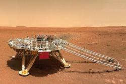 China's Mars rover travels over 509 metres on red planet