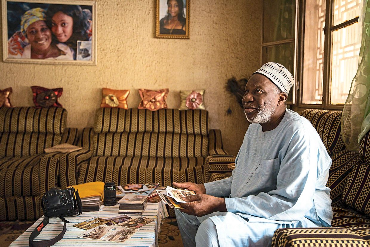 Cisse's name remains relatively unknown and in his house in the capital Bamako, the frail 76-year-old plays down his achievements. Photo: AFP