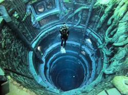 Take a dive in the world's deepest pool
