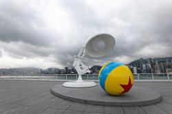 Cartoons come alive in Hong Kong for Pixar's 35th anniversary