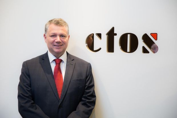During the virtual listing ceremony, CTOS group chief executive officer Dennis Martin (pic) said the agency has been pleased by the overwhelming support from both institutional and retail investors.