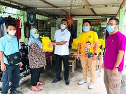 MPs start distributing items to the needy under food basket programme