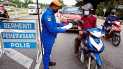 Police order 13,000 vehicles to turn back