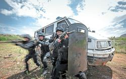 Waging war on drug lords at the border