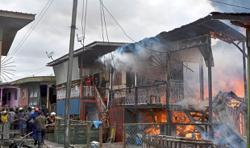 50 houses razed in Tawau fire