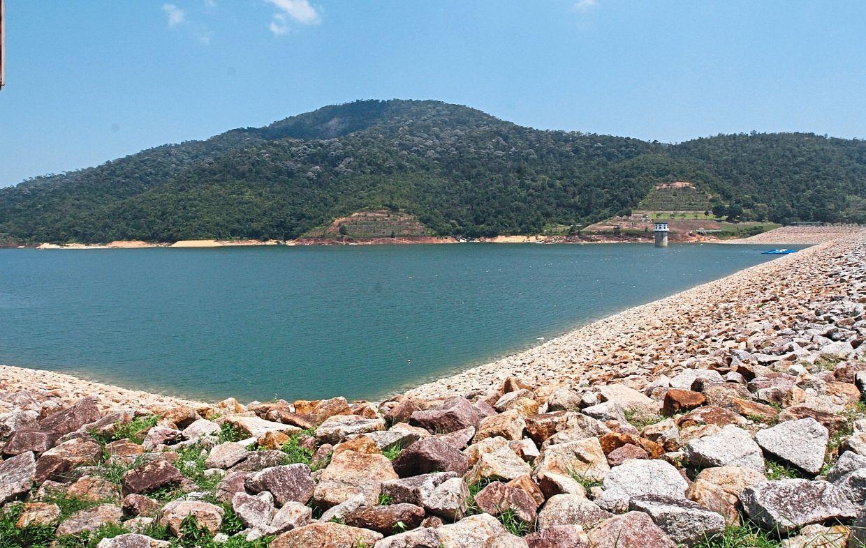 Water level at 58.7% in Teluk Bahang Dam.