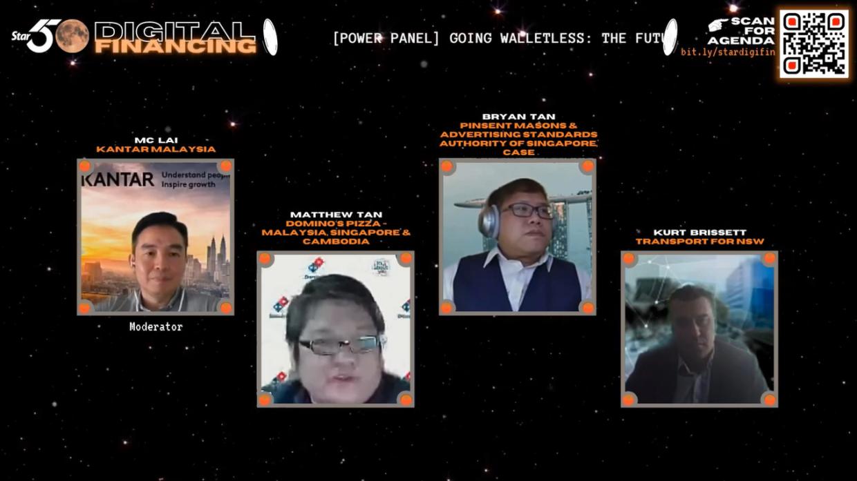 [Power Panel] Going Walletless: The Future of Consumerism (from left): MC Lai, Matthew Tan, Bryan Tan & Kurt Brissett