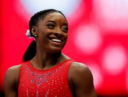 Olympics-Who can beat Simone Biles? Only Simone Biles
