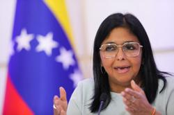Maduro ally makes rare appearance at Venezuela business group assembly