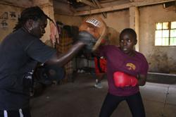 Boxing proves a lifeline for girls from Nairobi slums