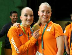 Gymnastics- Power of two: Twins excel on Olympic stage
