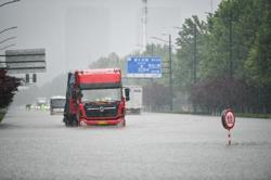12 killed in heavy rain in China's Zhengzhou region