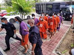 Cops get remand order on all 49 men held over prayers outside Juru surau