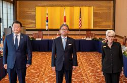 U.S., Japan, South Korea send clear message to N.Korea - U.S. diplomat