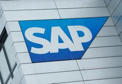Germany's SAP shares slip as improved outlook still falls short