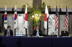 US, Japan, South Korea united on North Korea, Taiwan issues: Officials