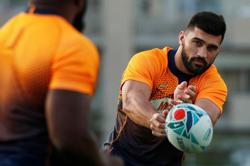 Rugby-Bok centre De Allende says lucky to play again after fire pit explosion