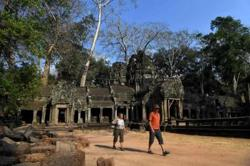 Foreign visitor arrivals to Cambodia down 92 per cent in first five months