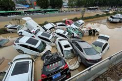 25 killed, hundreds of thousands displaced by central China floods