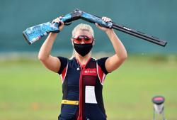 Olympics-Shooting-Britain's Hill out of Games due to COVID-19 positive