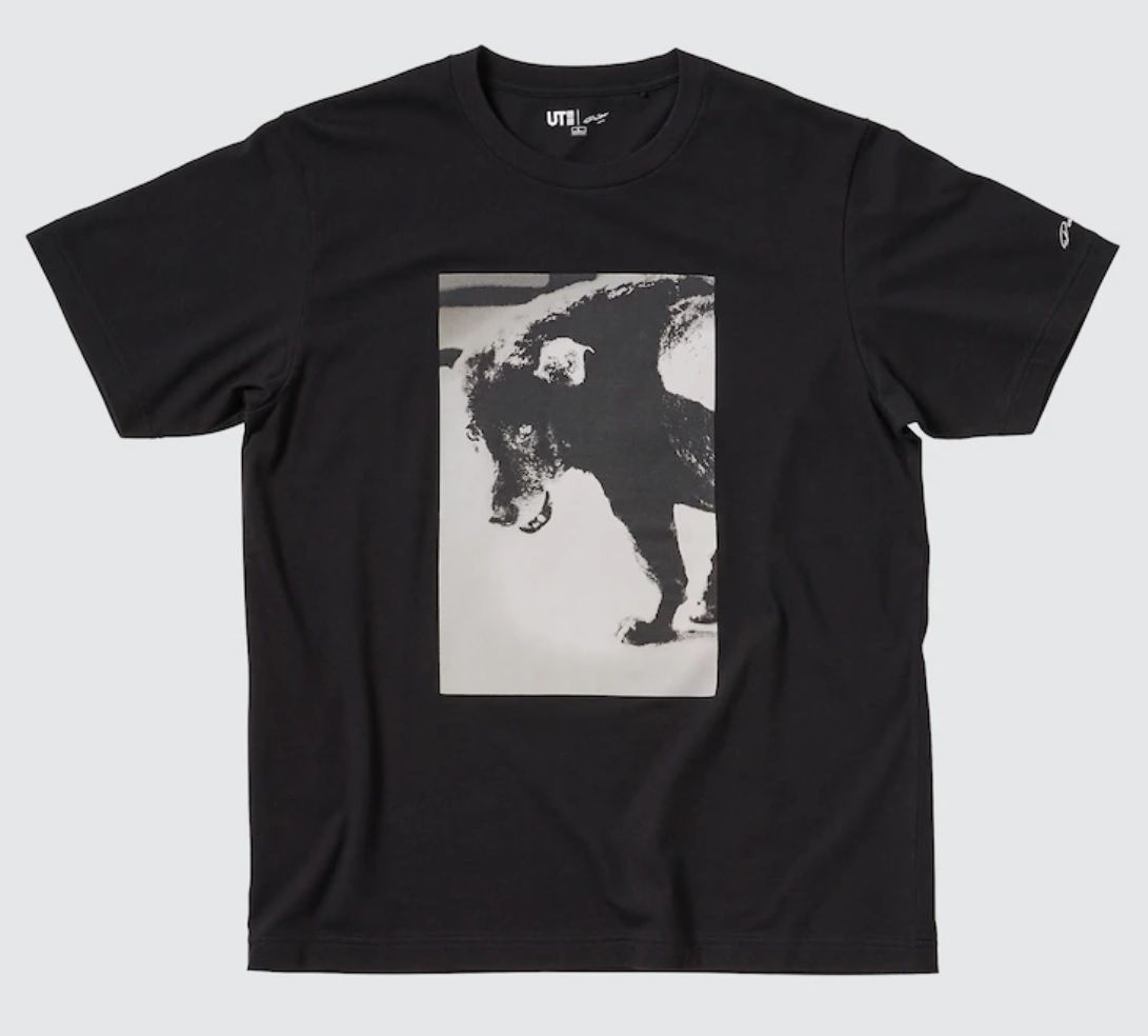 Daido Moriyama's 'Stray Dog' photograph is featured in Uniqlo's latest UT Collection. Photo: Uniqlo