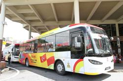 Free bus service covers 23 vaccination centres