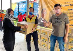 500 families benefit from club's aid