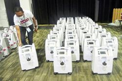 Over 500 oxygen concentrators for MAEPS PKRC 2.0