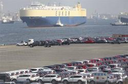 Japan's exports up on solid demand