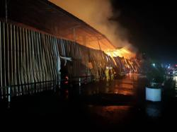 Fire at Nibong Tebal palm oil mill damages storage facility